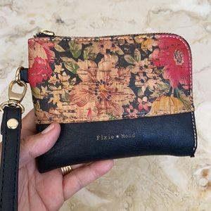 Pixie Mood Vegan Wristlet Zip Wallet